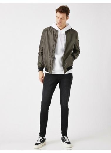 Koton Justin Super Skinny Fit Jean Pantolon Siyah